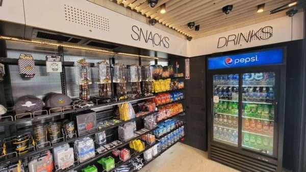 AiFi Indy 500 autonomous store snacks